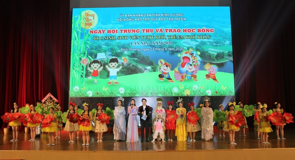 URC Vietnam stands united with MOLISA and the National Fund to care for the growth and the development of Vietnamese children