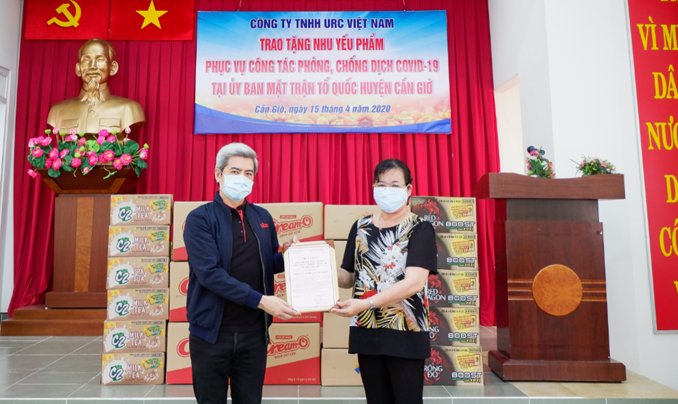 "URC Vietnam committed to the mission of ""no one left behind"" during the second wave of Covid-19"
