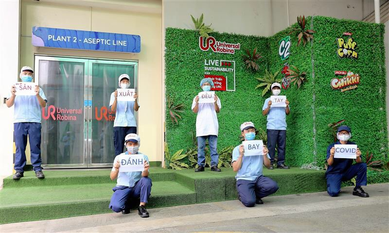 URC Vietnam's responses to Covid-19 pandemic make employees proud