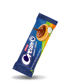 Cream-O Crunchy Cookies with Chocolate & Coconut